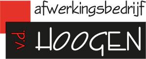 Wijchen Schaatst - logo Afwerkingsbedrijf v.d. Hoogen